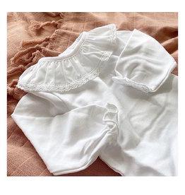 MINHON White Frill Collar & Cuffs Bodyvest
