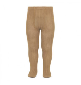 CONDOR Camel Ribbed Tights