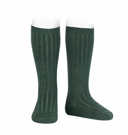 CONDOR Pine Ribbed Knee Socks