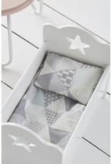 KIDS CONCEPT Grey Doll Bedset