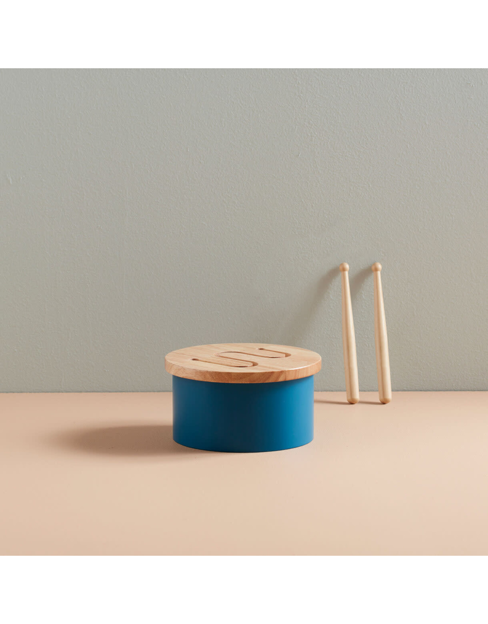KIDS CONCEPT Blue Mini Drum