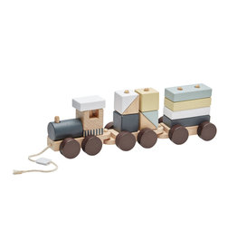 KIDS CONCEPT Natural Block Train