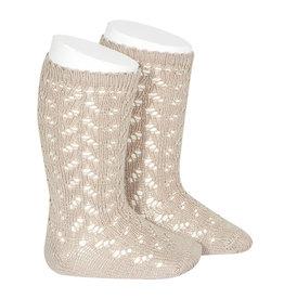 CONDOR Stone Warm Openwork Socks