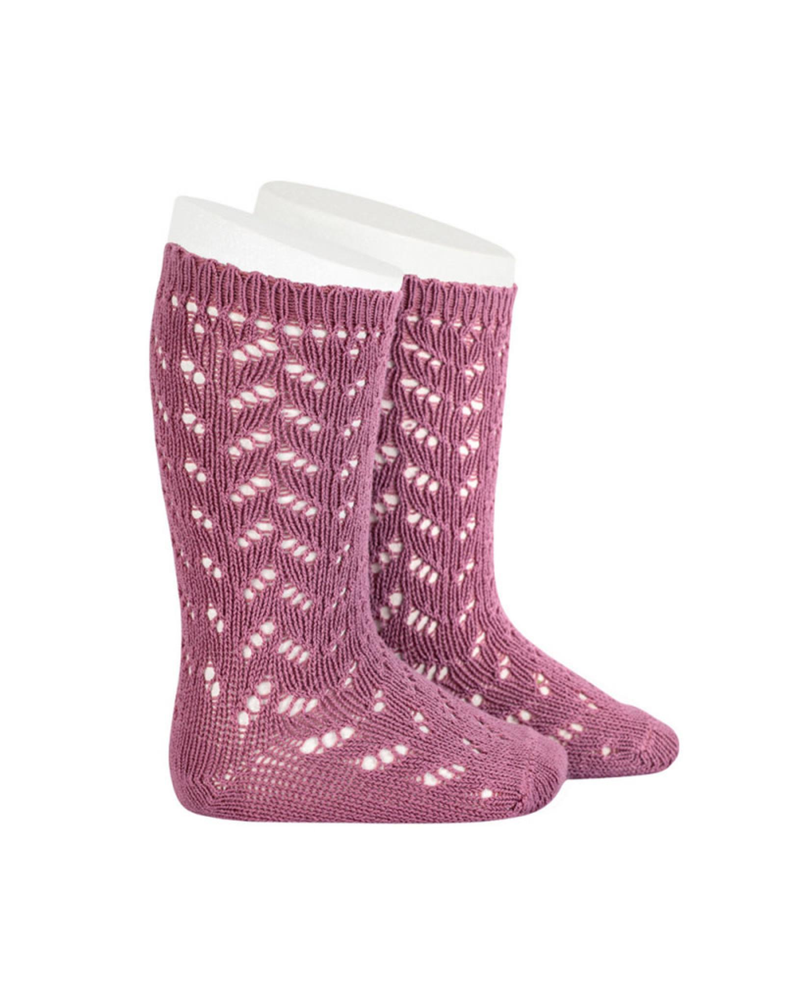CONDOR Cassis Warm Openwork Socks