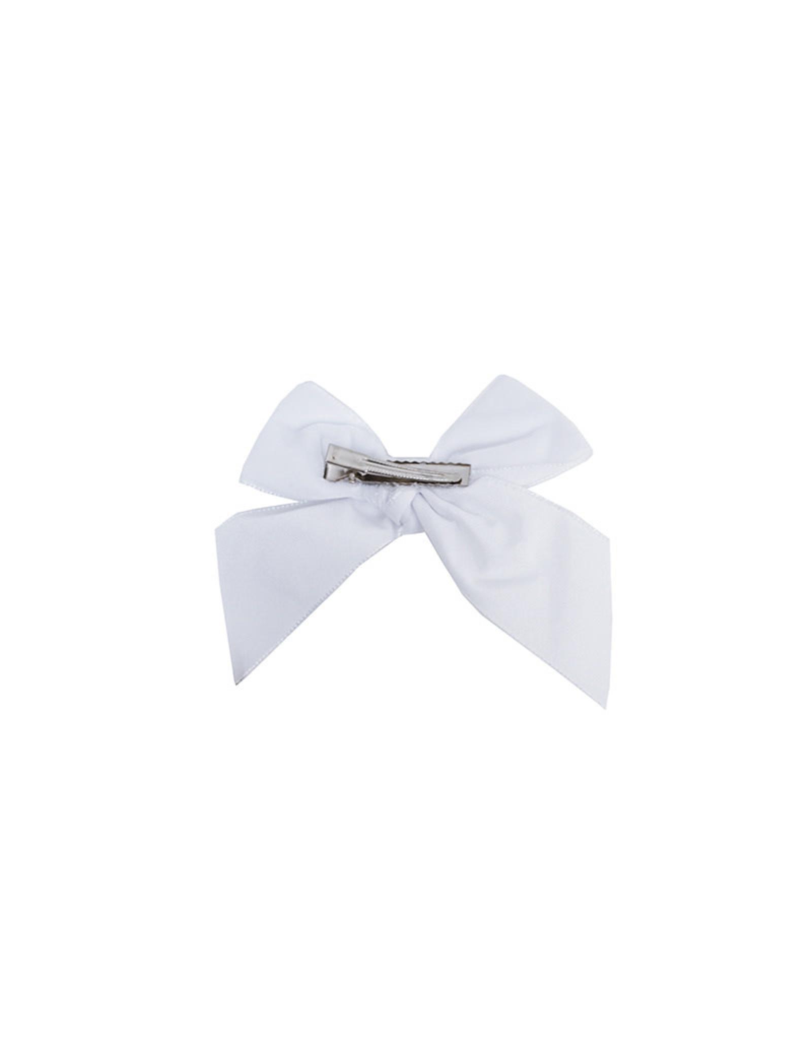 CONDOR White Velvet Hair Bow