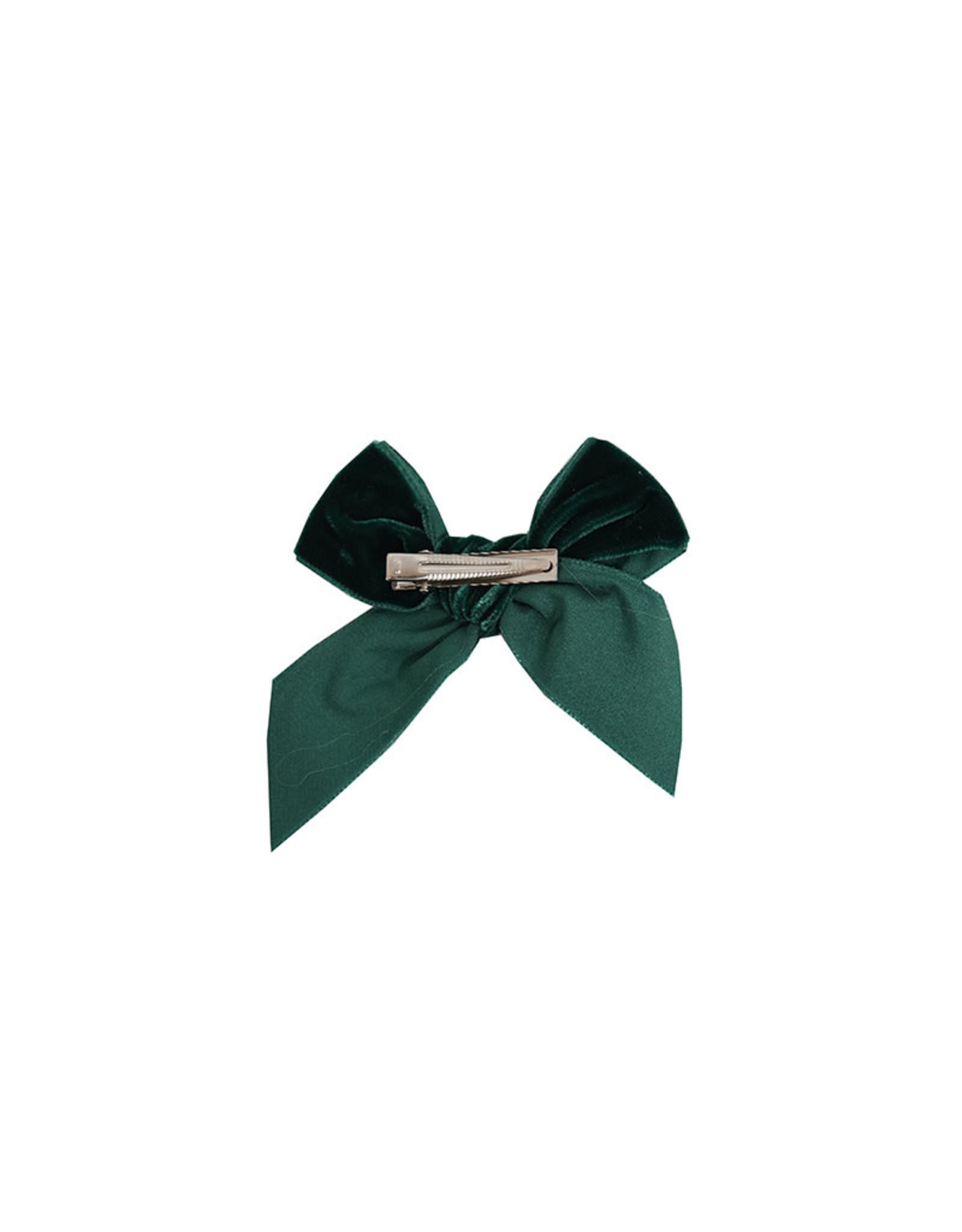 CONDOR Pine Velvet Hair Bow