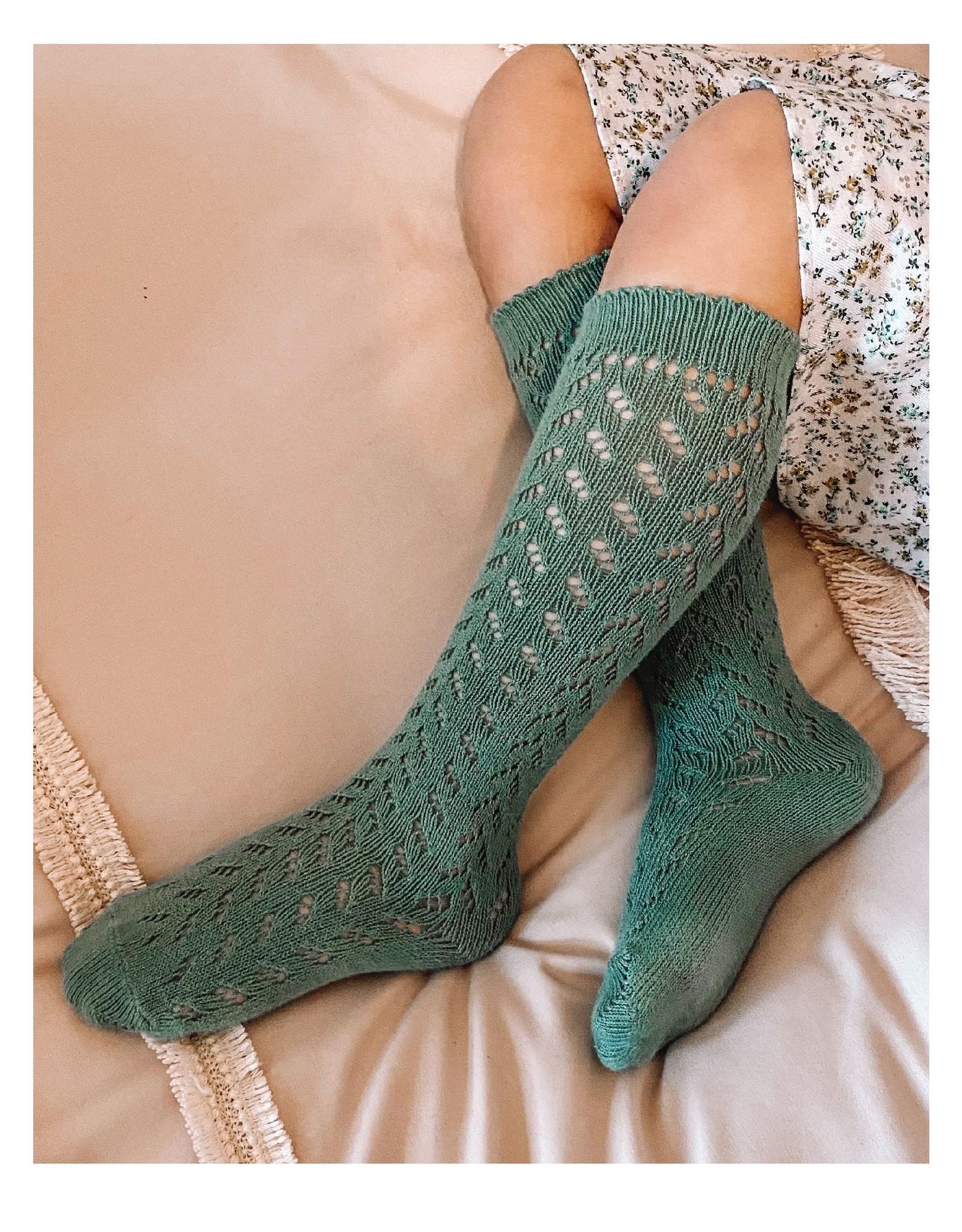 CONDOR Lichen Warm Openwork Socks