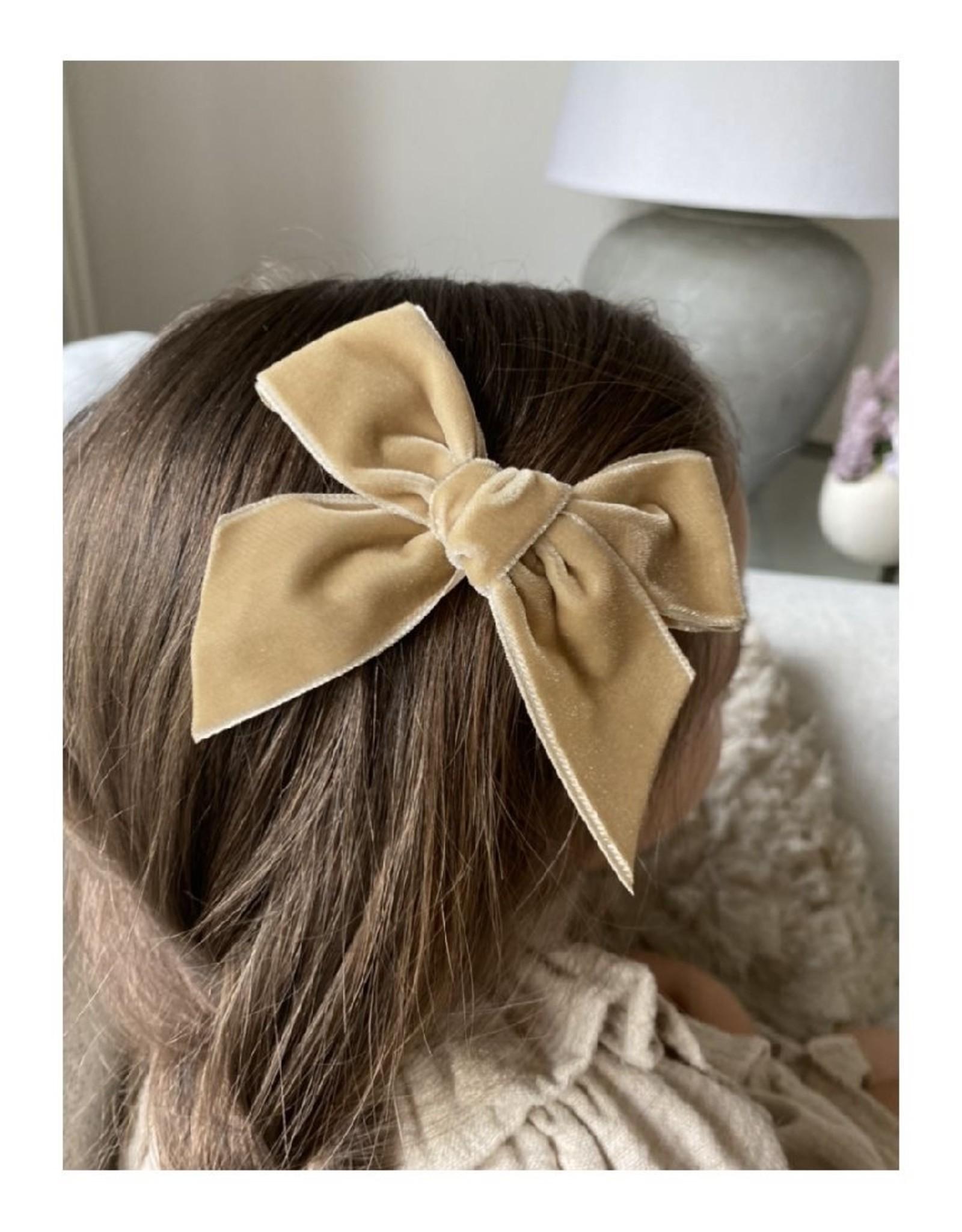 CONDOR Rope Velvet Hair Bow
