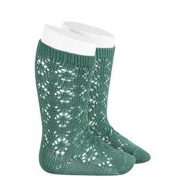 CONDOR Cedar Geometric Openwork Socks