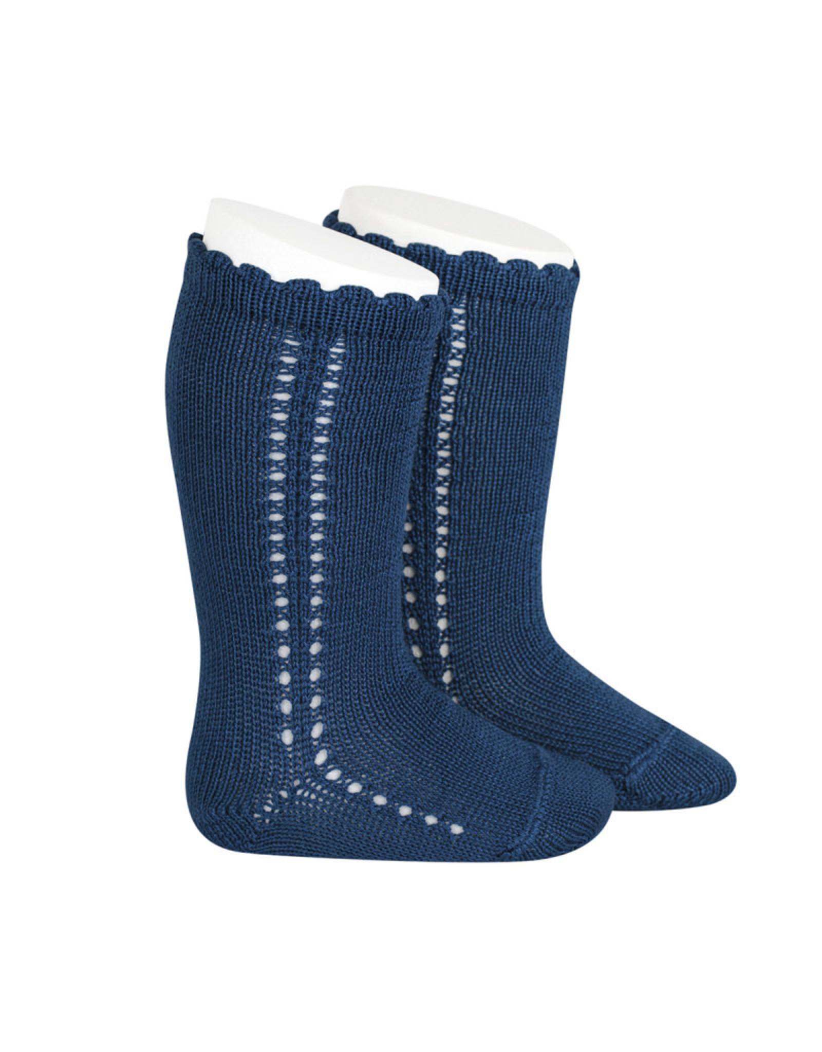 CONDOR Atlantic Side Openwork Knee Socks