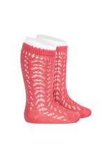 CONDOR Coralline Openwork Knee Socks