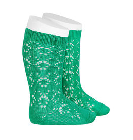 CONDOR Chlorophyll Geometric Openwork Socks