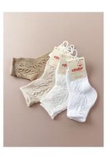 CONDOR Side Openwork Fine Short Socks