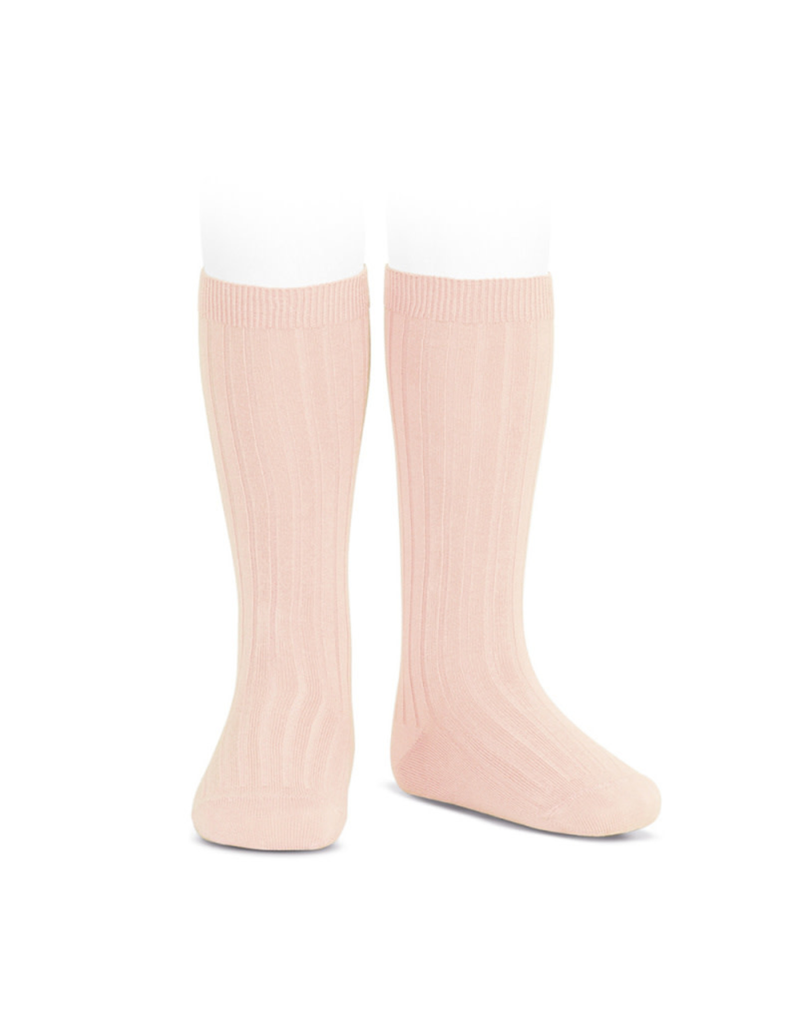 CONDOR Nude Ribbed Socks