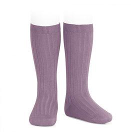 CONDOR Amethyst Ribbed Socks