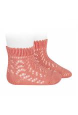CONDOR Peony Short Openwork Socks