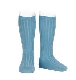 CONDOR Cloud Ribbed Socks