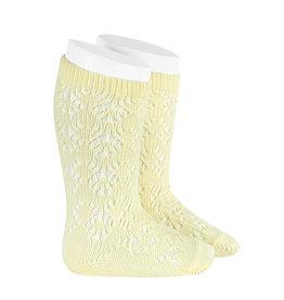 CONDOR Butter Geometric Socks