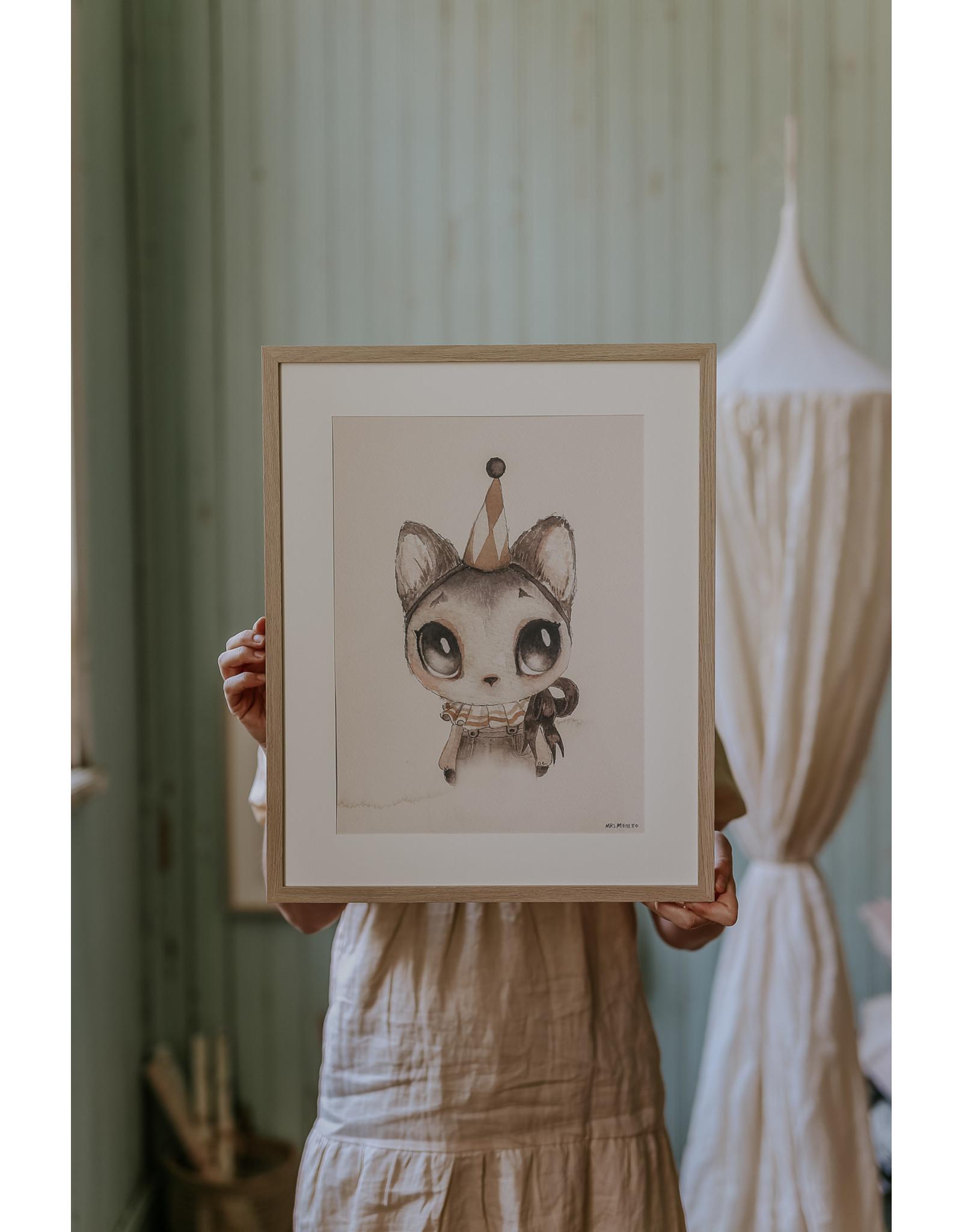 MRS MIGHETTO Dear Meow 50x70 cm