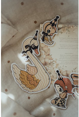MRS MIGHETTO 4 Pack Patches - Dear Swan, Birdie, Butterfly & Miss Gertrud