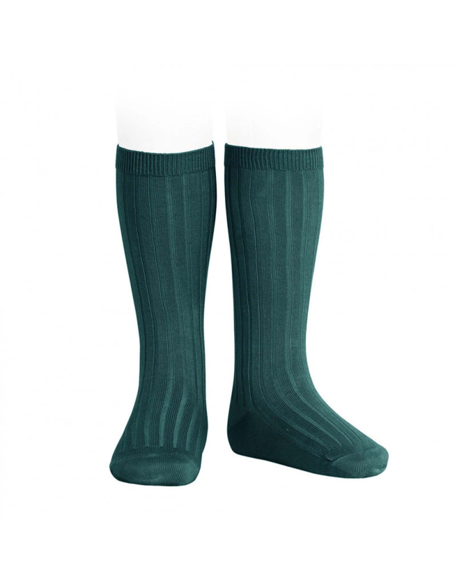 CONDOR Oil Ribbed Knee Socks