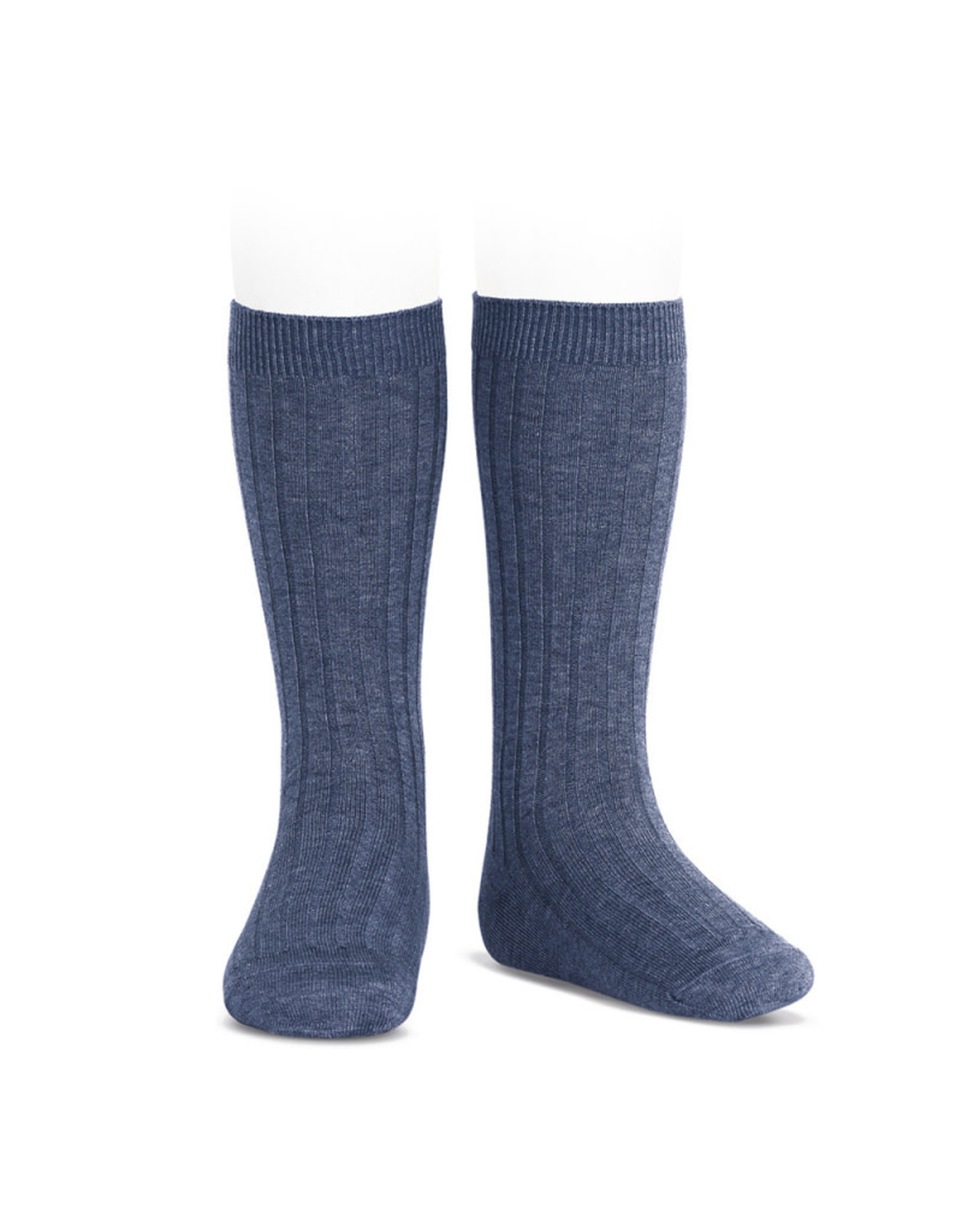 CONDOR Jeans Ribbed Knee Socks
