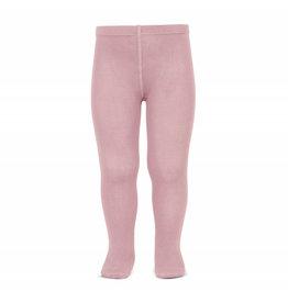 CONDOR Pale Pink Plain Stitch Tights