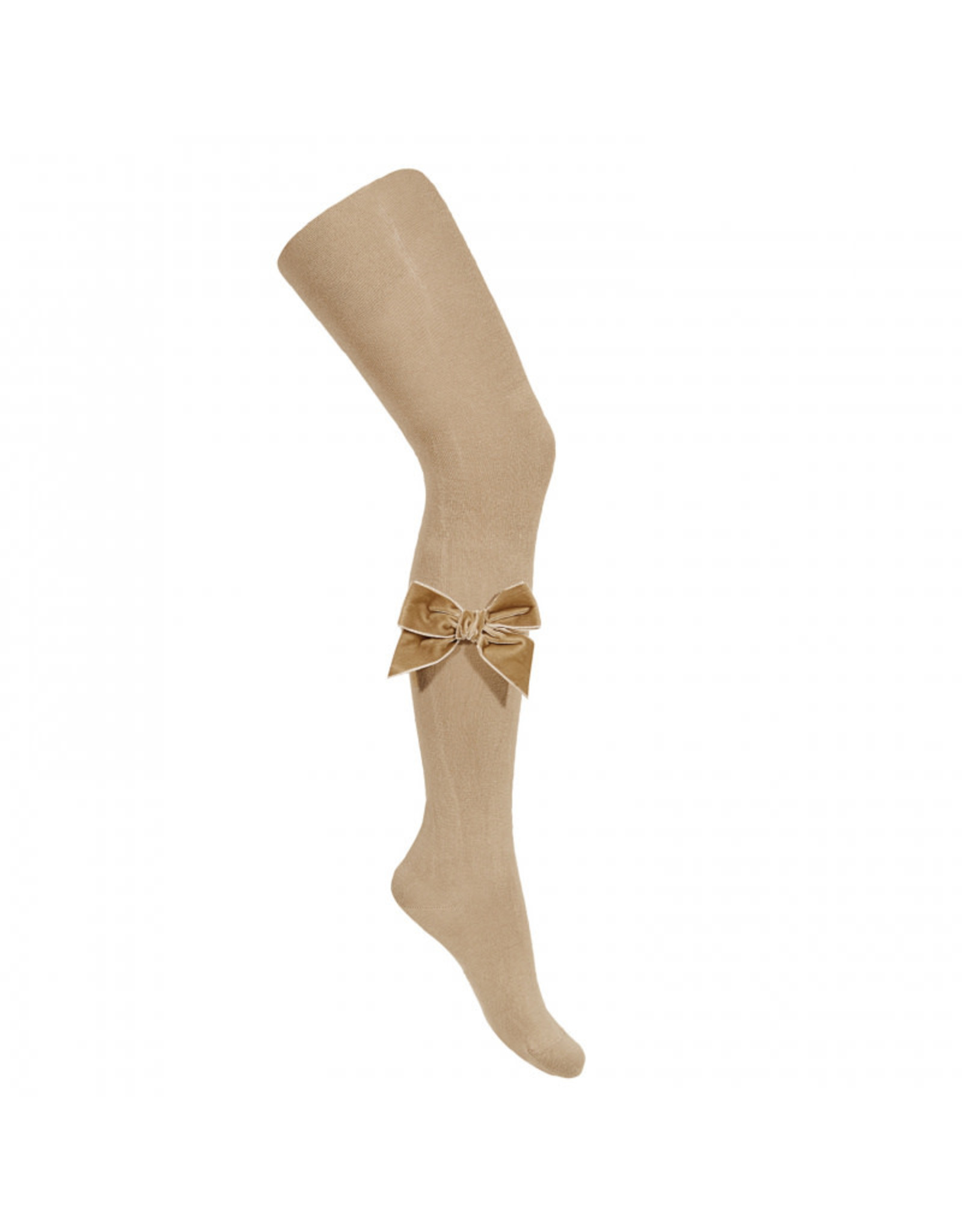 CONDOR Rope Velvet Bow Tights