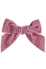 CONDOR Pale Pink Velvet Hair Bow