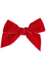 CONDOR Red Velvet Hair Bow