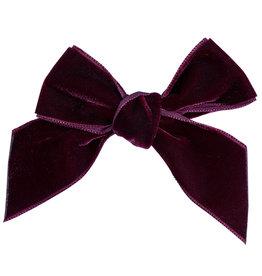 CONDOR Garnet Velvet Hair Bow