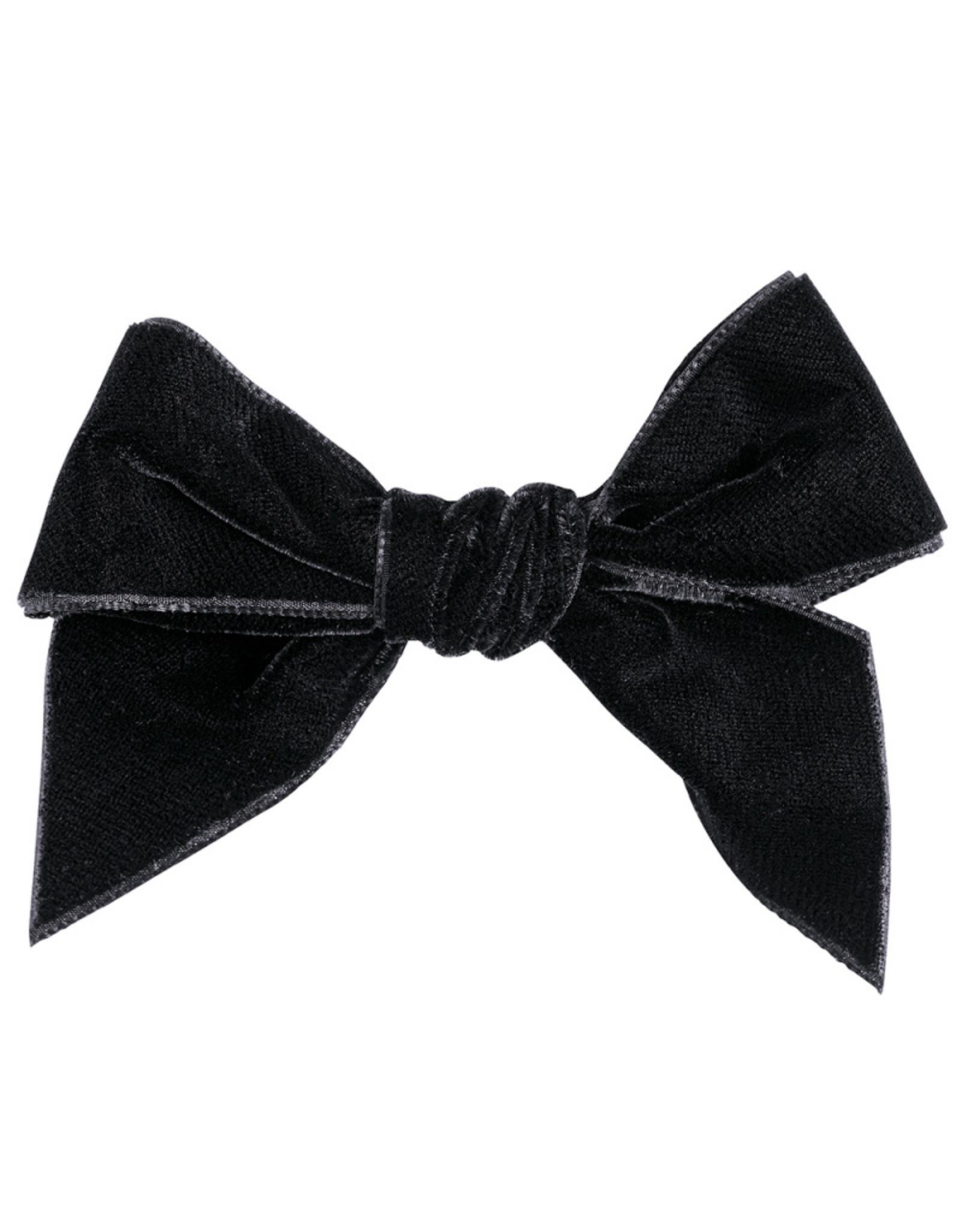 CONDOR Black Velvet Hair Bow