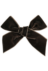 CONDOR Brown Velvet hair Bow