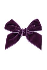 CONDOR Bordeaux Velvet Hair Bow