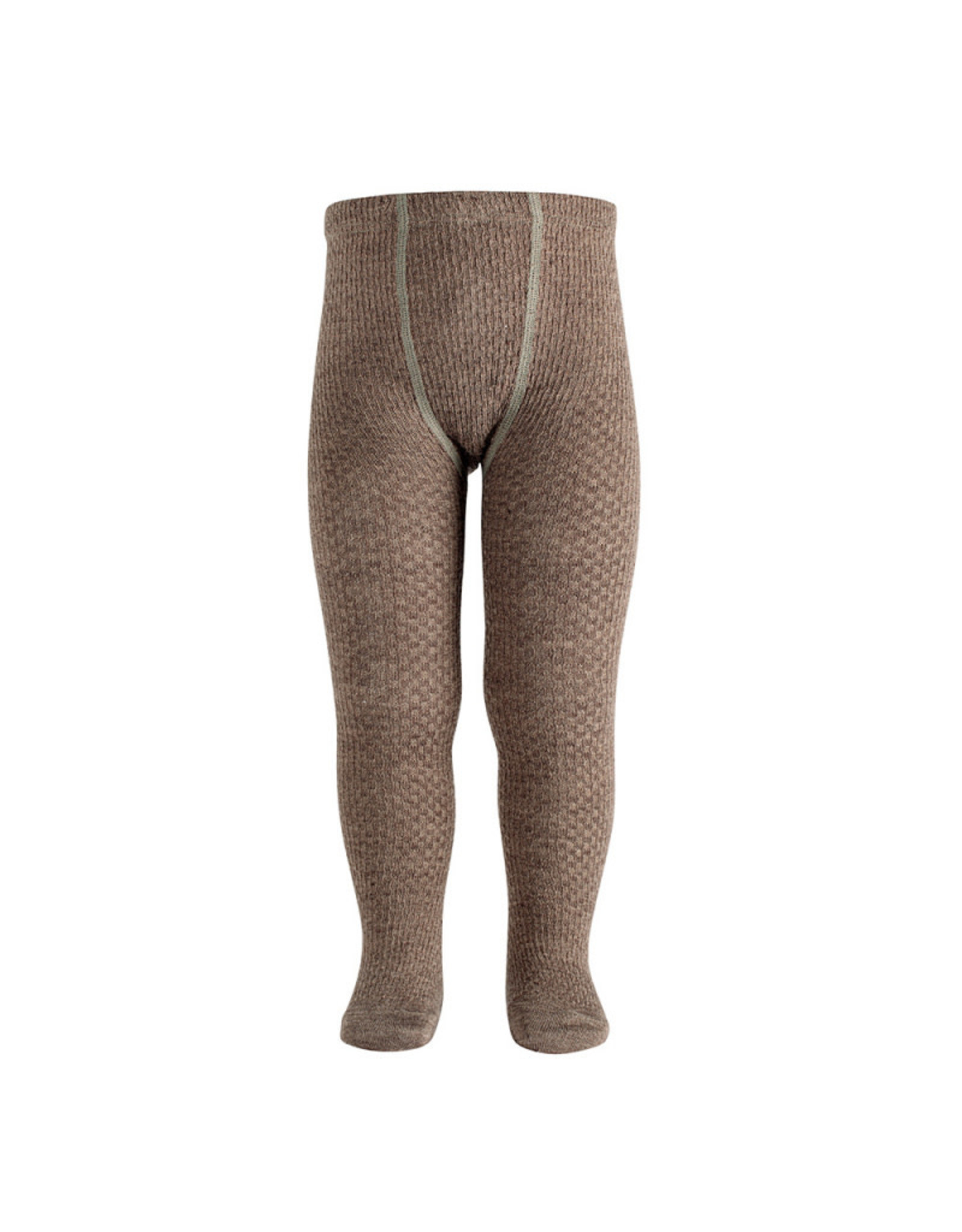 CONDOR Trunk Wool Patterned Tights