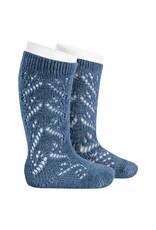 CONDOR Jeans Wool Side Openwork Socks