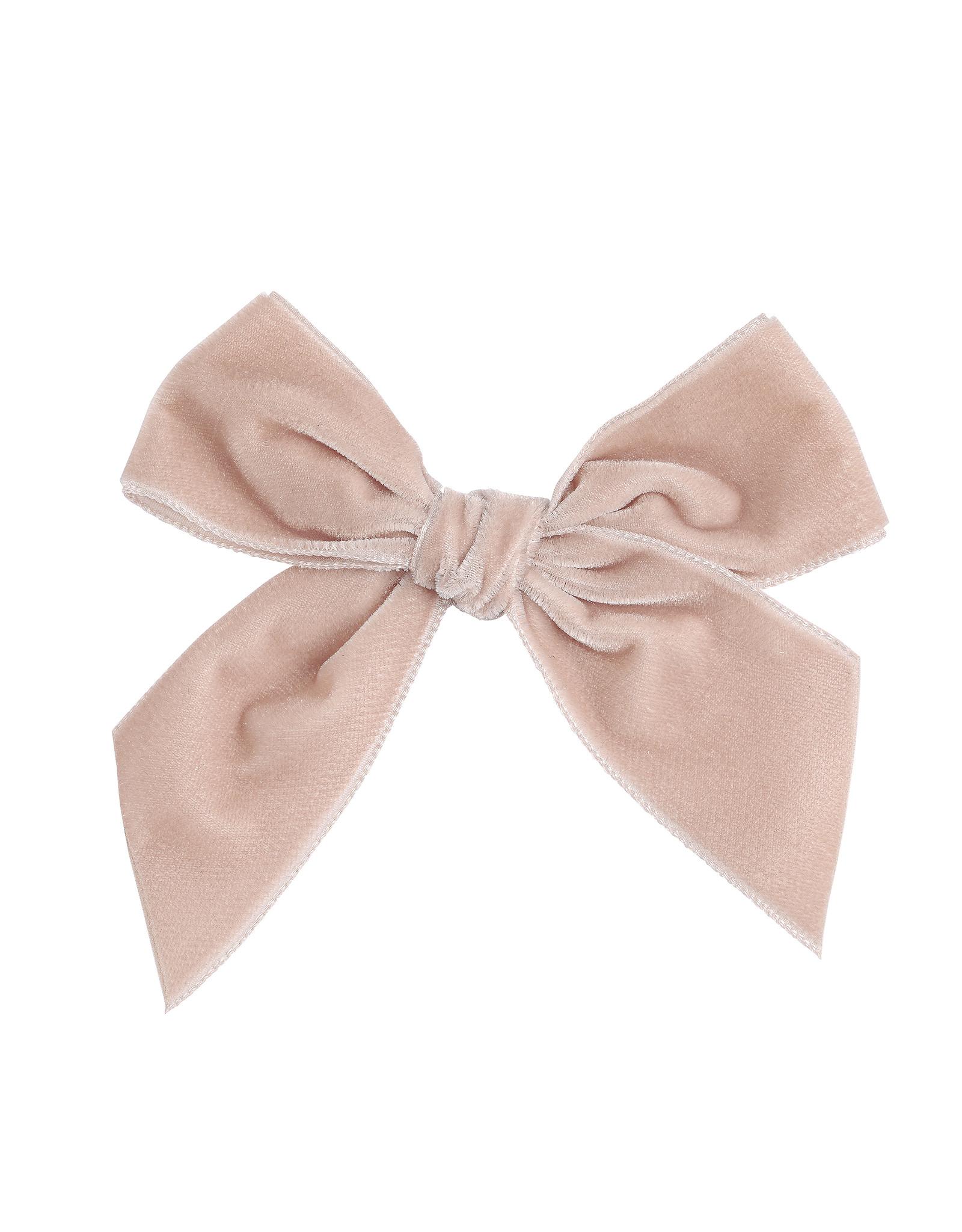CONDOR Nude Velvet Hair Bow