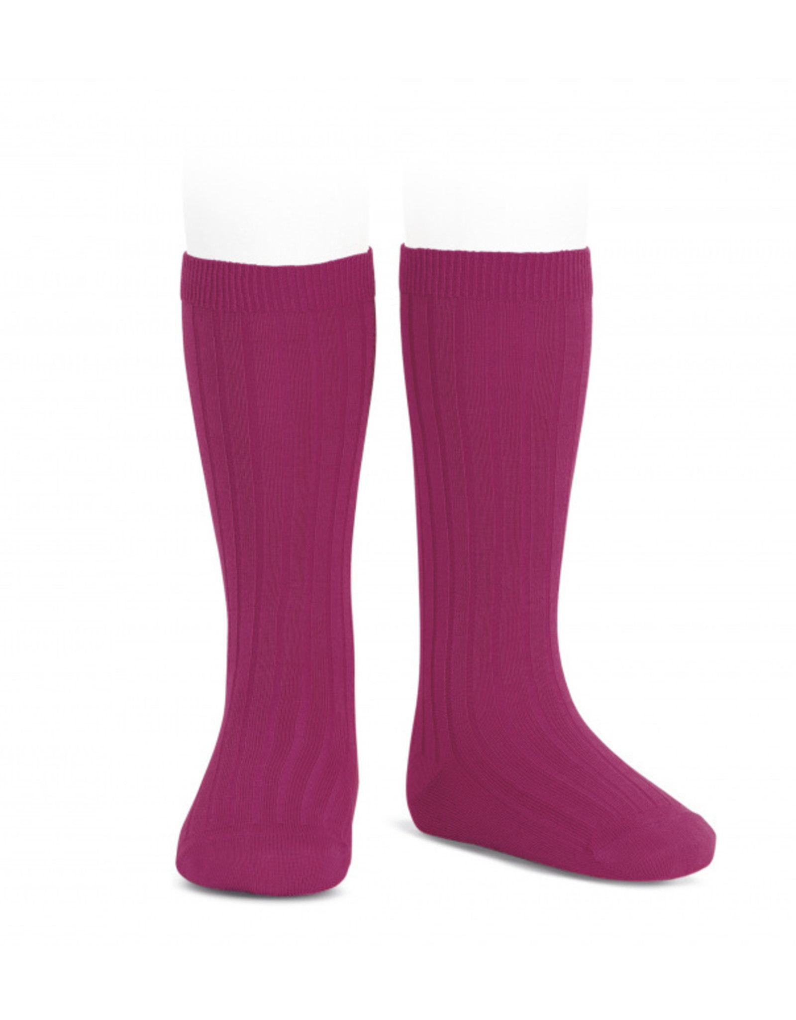 CONDOR Petunia Ribbed Knee Socks