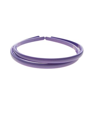 Purple/ Lavender plastic Diadem width 8 mm. per piece
