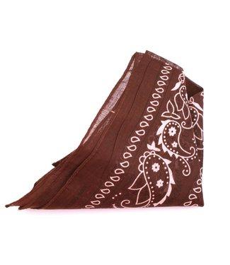 Cotton Bandana Brown