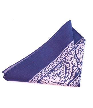 Katoenen Bandana Donkerblauw