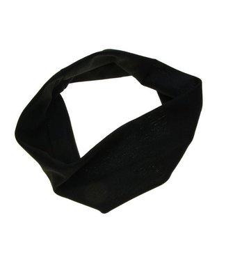Hairband black stretch