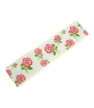 Kids Hairband white with flower print