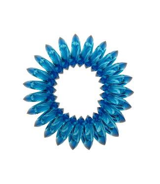 Transparent spiral elastic - Evil Eye - 3 pieces