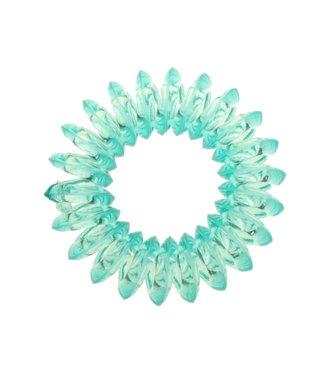 Transparent spiral elastic - Poolside - 3 pieces