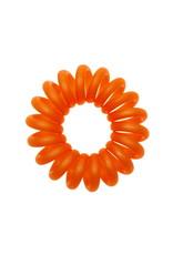 Opaque  spiraal elastiek - Cantaloupe - 3 stuks