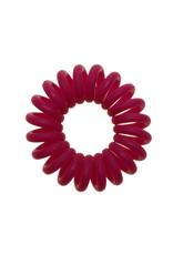 Opaque  spiraal elastiek - Fuchsia - 3 stuks