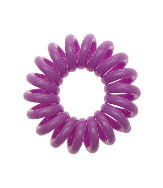 Opaque spiraal elastiek - Lavender - 3 stuks