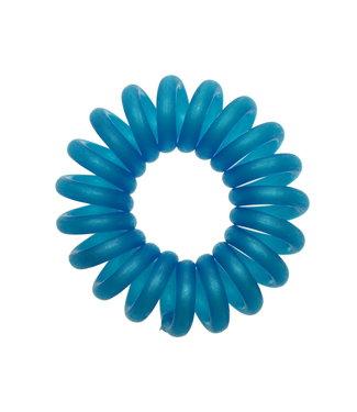 Opaque spiraal elastiek - Ocean - 3 stuks