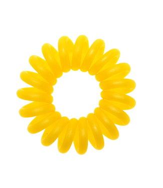Opaque spiraal elastiek - Sunflower - 3 stuks